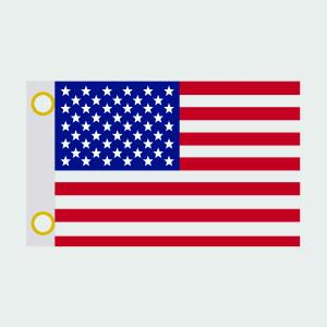 USA Antenna Flag