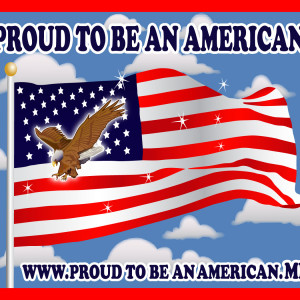 Proud To Be An American Magnet